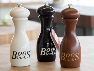 Boos Block Pepper Mills